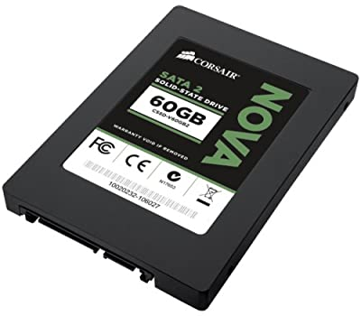 Corsair 60GB SSD Corsair Nova Series 2 Solid State Drive - Read 270MB/s, Write 240MB/s, 128MB Cache, Retail from Nova