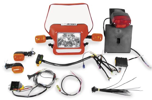 Baja Designs Dual Sport Kit - Ez Mount - Electric Start 12-1010-Wt