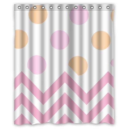 Polka Dots and Pink Chevron