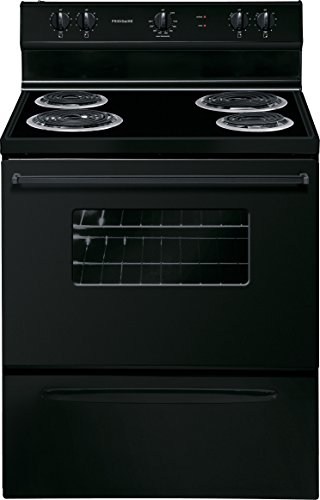 "Frigidaire FFEF3005MB 30"" Freestanding Electric Orbit with 4 Coil Elements in Black"