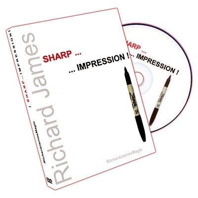 Sharp Impression (DVD and Gimmicks) by Richard James - DVD (Richard Sharps compare prices)