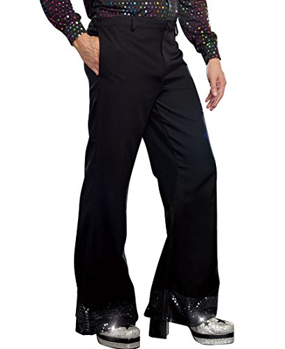 [Mens Disco Pants Costume - X-Large - Chest Size 46-48] (Mens Disco Costumes Pants)