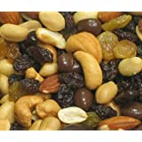 Chocolate Delite Trail Mix - 5 lb. Zip Lock Pouch Bags by Treasured Harvevst