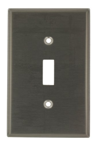 leviton-ssj1-40-1-gang-toggle-switch-wallplate-midway-size-stainless-steel-by-leviton