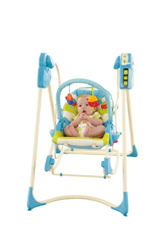 Fisher-Price modelo P6946 hamaca bebe automatica pajaritos - 2