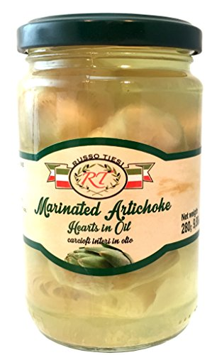 Russo Tiesi Marinated Artichoke Hearts in Oil from Italy (Salt Water Taffy Machine compare prices)