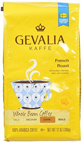 Gevalia French Roast, Whole Bean Coffee, 12 Ounce (Pack of 6) (Coffee Gevalia Whole Bean compare prices)