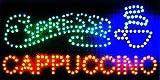 "Ultra Bright LED Neon Light Animated Coffee Espresso Cappuccino sign By ""E Onsale"" L45"
