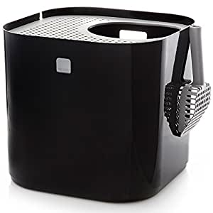 modkat litter box black automatic cat litter box pet supplies. Black Bedroom Furniture Sets. Home Design Ideas