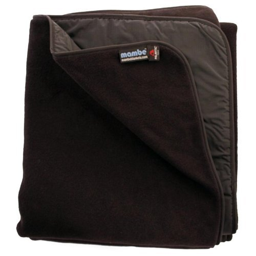 Mambe Extreme Outdoor Blanket (Large, Black) 100% Waterproof / Windproof. The Best Cold Weather Stadium Blanket Available. Genuine Polartec?? Classic 300 Fleece - Thick, Warm, And Soft. The Highest Quality Fleece Made. Radiant Heat Reflective Lining For R