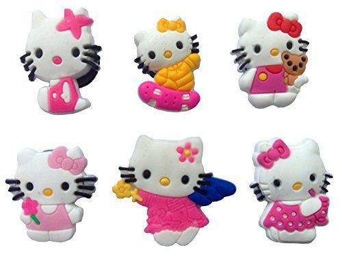 Hello Kitty Fridge Magnets 6 Pcs Set #1
