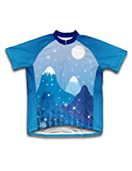 Mountain Ice Short Sleeve Cycling Jersey for Women