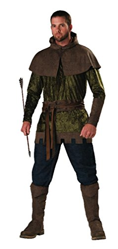 Robin Hood of Nottingham Costume - X-Large - Chest Size 46-48