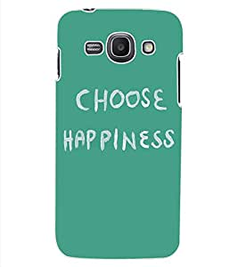ColourCraft Quote Design Back Case Cover for SAMSUNG GALAXY ACE 3 3G S7270