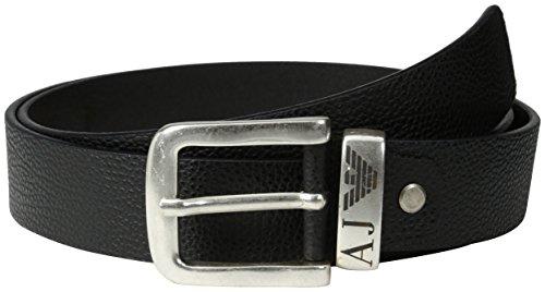 Armani Jeans 06196R6-Cintura Uomo    Schwarz (NERO - BLACK 12) cm