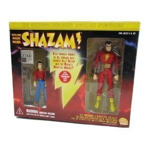 Dc Direct Shazam Deluxe Action Figure Set Shazam and Billy Batson by DC Comics (Billy Batson Action Figure compare prices)