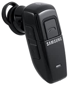 Samsung WEP 200 Black (AWEP200JBECXAR) and Ear Hook (AAET180SBEBSTD) Wireless Bluetooth Headset (Samsung Retail Pakaged)