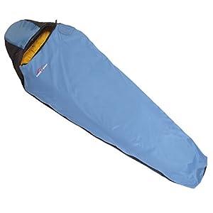 Suisse Sport Adventurer Mummy Ultra-Compactable Sleeping Bag, Left Zipper (Blue)