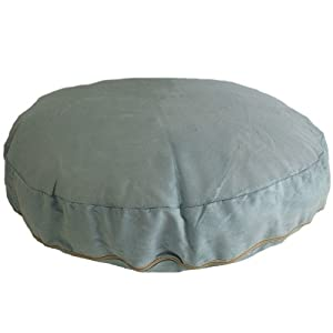 Faux Suede Duck Egg Blue Bean Bag Cat Dog Pet Bed