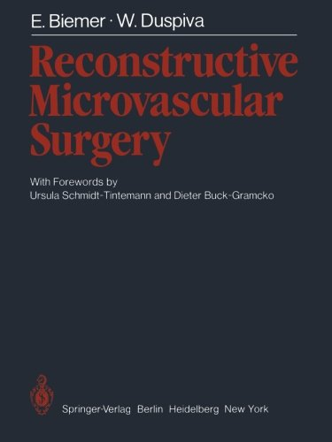 Reconstructive Microvascular Surgery