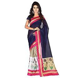 Aaradhya Fashion Women Handloom Saree (handloom-06_Blue_Blue_Free Size)