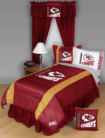 Kansas City Chiefs Twin Comforter Bedding New Nfl Boys Football