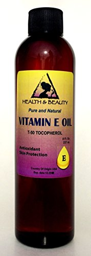 Tocopherol T-50 Vitamin E Oil Anti Aging Natural Premium Pure 8 oz