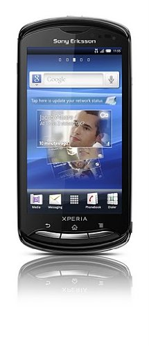 Sony Ericsson Xperia pro MK16A Android Unlocked Smartphone with 3G, QWERTY Keyboard, Touchscreen, 8 MP Camera, Wi-Fi, and GPS--U.S. Warranty (Black)