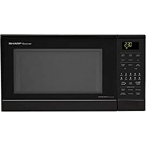 Carousel 0 9 Cu Ft 900w Countertop Convection Microwave Oven With Stainless Steel