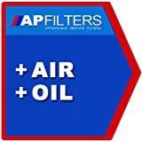 AIR OIL FILTER SERVICE KIT Vauxhall Astra 1.3 Saloon MK II [1984-1993]