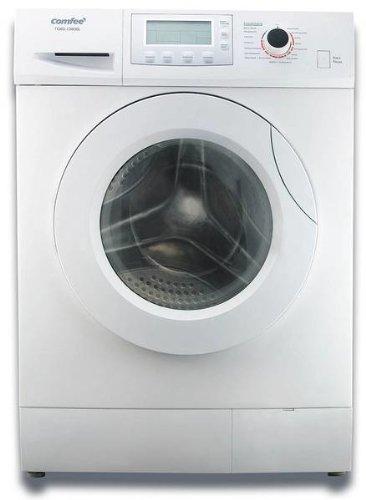 Comfee TG60-14606L Waschmaschine Frontlader / AAB / 1.14 kWh / 1400 UpM / 6 kg / 53 Liter / Selbstreinigungsprogramm / LCD Display / weiß