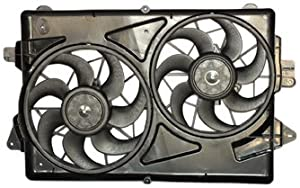 TYC 621330 Chevrolet Equinox Replacement Radiator/Condenser Cooling Fan Assembly