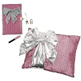 Moxie Teenz Moxie Teenz Secrets N Dreams Bow Pillow Set - Diary With Lock & Key And Pillow With Secret Storage