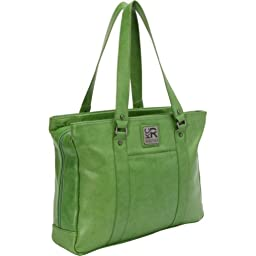Kenneth Cole Reaction Hit A Triple Tote, Green