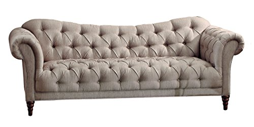 homelegance-chesterfield-traditional-style-sofa-with-tufting-and-rolled-arm-design-brown-almond