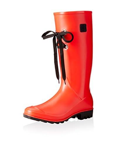 dav Women's Lug Lace Rain Boot