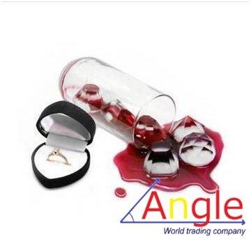 Angle 【子供が大喜び!】可愛いダイヤ型の氷 製氷皿 アイストレー パーティー・子供雑貨