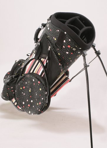 sassy-caddy-womens-flirty-golf-stand-bag-hot-pink-light-pink-black-white