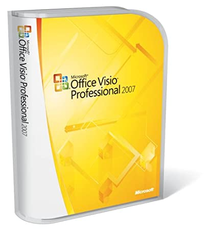 Microsoft Visio Professional 2007 Version Upgrade [Old Version]