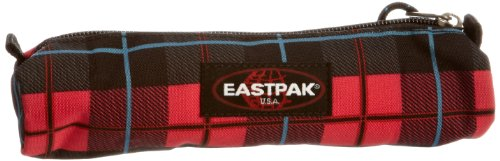 Eastpak SMALL ROUND Schwarz-Pink EK705-63B Schlampermäppchen Schlamperrolle Schlamperetui Stifte Etui