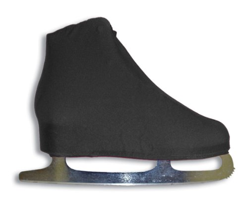 A&R Sports Lycra Ice Skate Boot Covers, Black