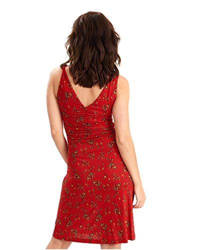 Joe Browns Women's All New Los Cabos Body Con Floral Sleeveless Dress, Red, 10