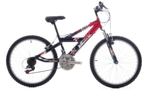 Active Daytona Boys Mountain Bike - Black/Red, 13 Inch