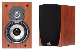 Polk Audio Monitor 35B Compact Bookshelf Speakers (Pair, Cherry)