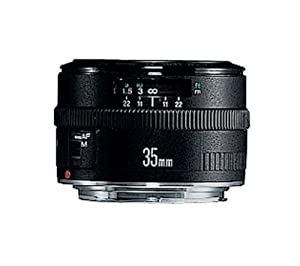 Canon EF 35mm f/2 Wide Angle Lens for Canon SLR Cameras
