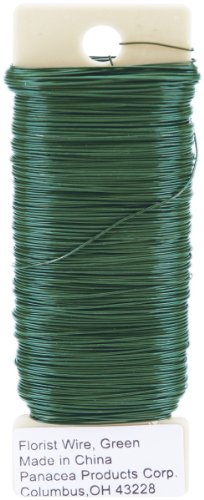 Paddle Wire 26 Gauge 4 Ounces/Pkg-Green