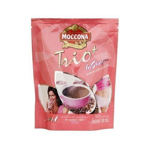 Moccona Trio Plus Inshape Coffee Mix Powder 18G. Pack 10Sachets