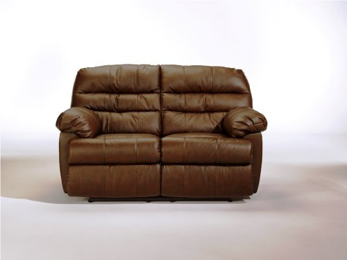 Buy Low Price AtHomeMart Brown Reclining Loveseat (ASLY2610386)