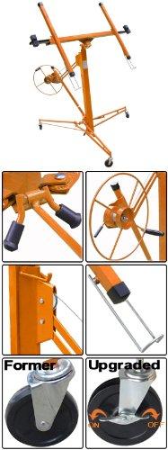 Orange 11 - 15 Ft. Drywall Panel Lift Sheetrock Hoist