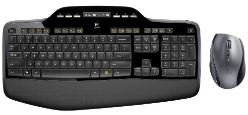 KEY Wirless Keyboard and Mouse. Blac